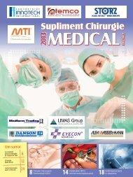 Supliment CHIRURGIE 2013 - Saptamana Medicala