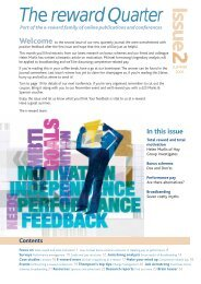 Reward Quarterly Newsletter - Summer 2006