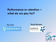 Performance versus retention – which one should you pay for?