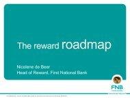 Nicolene de Beer, First National Bank