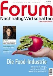 Nachhaltig Wirtschaften - Sarah Wiener