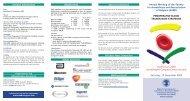 Programme - Belgische Vereniging voor Anesthesie en Reanimatie
