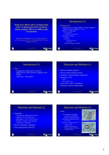 Introduction (1) Introduction (2) Materials and Methods (1) Materials ...