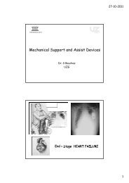 Mechanical Support and Assist Devices