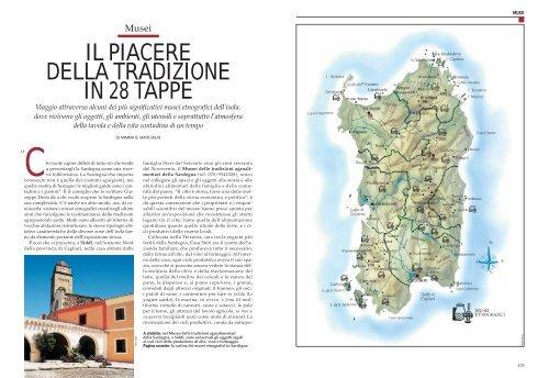 Cartina Sardegna Turistica.Il Piacere Della Tradizione In 28 Tappe Sardegna Turismo