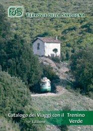 Catalogo dei viaggi con il TRENINO VERDE - Sardegna Turismo