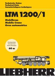 Mobilkran Mobile Crane Grue automotrice 60 m