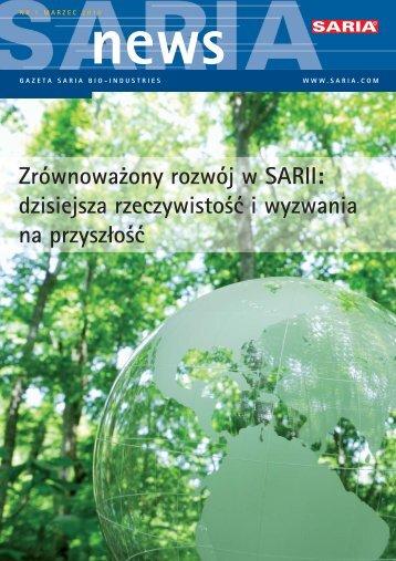 Zrównoważony rozwój w SARII - Saria Bio-Industries AG & Co. KG