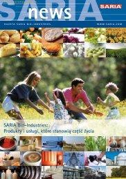 SARIA Bio-Industries: Produkty i usługi, które stanowią część życia