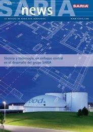 SariaNews 1_09_ESP.indd - Saria Bio-Industries AG & Co. KG