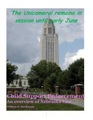 Child Support Enforcement - Sarpy County Nebraska