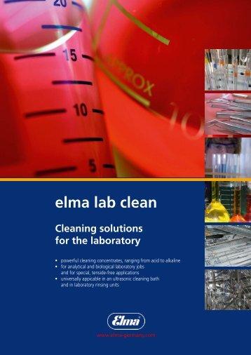 elma lab clean - t Labo