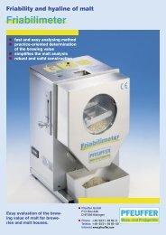 Prospekt Friabilimeter D-E-GB.indd - sartorom impex