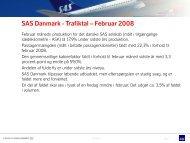 Trafiktal med kommentarer og grafisk fremstilling - SAS