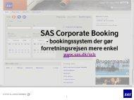 Læs brugervejledning (PDF) - SAS