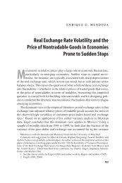 Real Exchange Rate Volatility and the Price of Nontradables in ...
