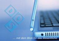Imagebroschüre - DOS Software-Systeme Gmbh