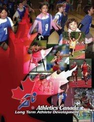 Long Term Athlete Development Model - Athletics Canada