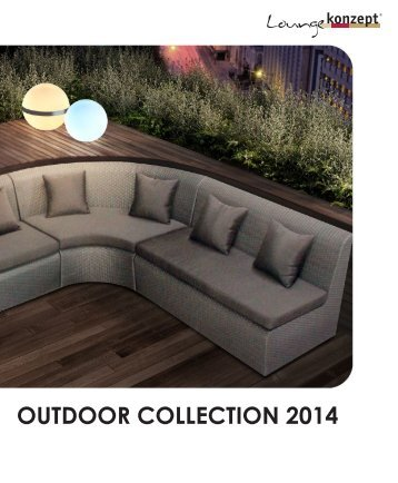 Loungekonzept OUTDOOR COLLECTION 2014