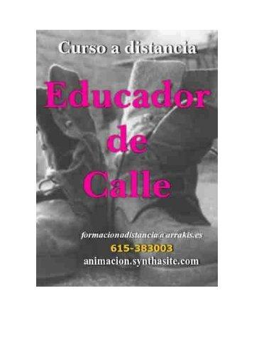 Intervencion en Medio Abierto: Educadores de Calle