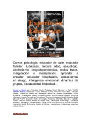 Cursos a distancia educacion, integracion