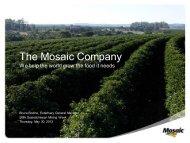 Potash Expansion Program - Saskatchewan Mining Association