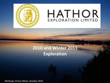 2010 Expenditures - Saskatchewan Mining Association