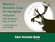 Title of Presentation Goes Here - Saskatchewan Mining Association
