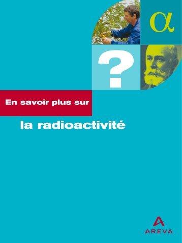 la radioactivité - Saskatchewan Mining Association