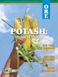 ORE Magazine - Fall Winter 2012 - Saskatchewan Mining Association