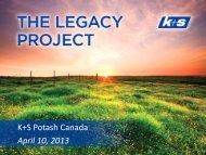 K + S Group – K + S Aktiengesellschaft - Saskatchewan Mining ...