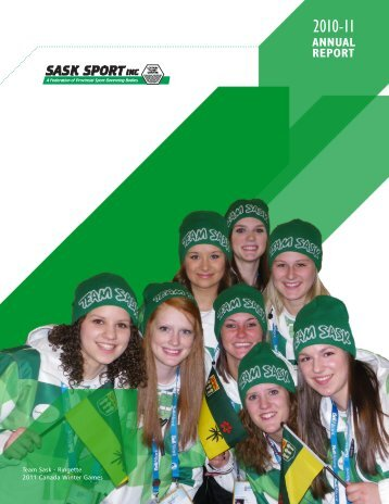 2010-11 Annual Report - Sask Sport Inc.