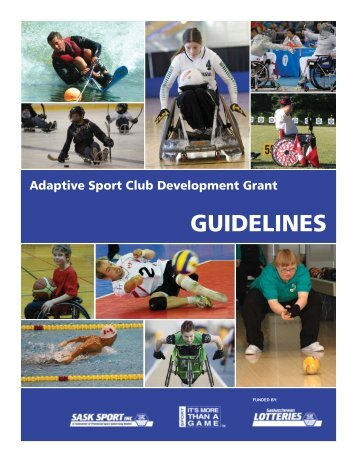 Club Development Guidelines.indd - Sask Sport Inc.