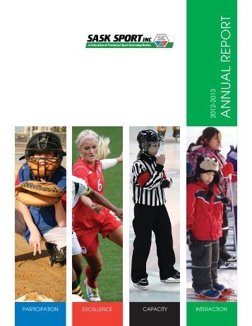 SSI 2012-13 Annual Report.indd - Sask Sport Inc.