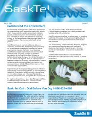 SaskTel News - Issue 47 -March, 2009