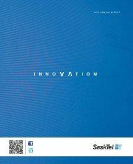 2010 SaskTel Annual Report