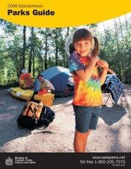 2008 Park Guide insides.cdr - Tourism Saskatchewan