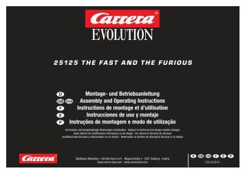 25125 THE FAST AND THE FURIOUS - Carrera