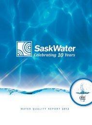 Celebrating 10 Years - SaskWater