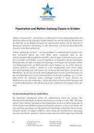 Faszination und Mythos Saslong Classic in Gröden
