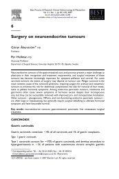 6 Surgery on neuroendocrine tumours - SASSiT