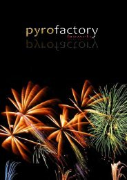 www.pyrofactory.at office@pyrofactory.at +43 680 442 67 97