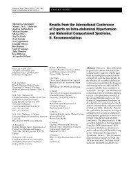 intra-abdominal compartment syndrome consensus Mx.pdf - SASSiT