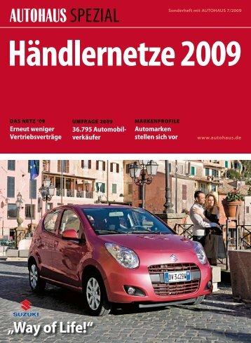 Händlernetze 2009 - Autohaus