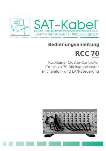 RCC 70 - SAT-Kabel GmbH