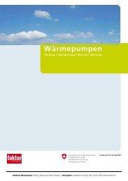 Wärmepumpen: Planung, Optimierung, Betrieb, Wartung