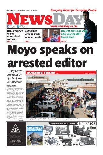 Newsday 21 June