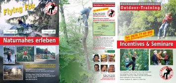 Naturnahes erleben - adventure - outdoor - training