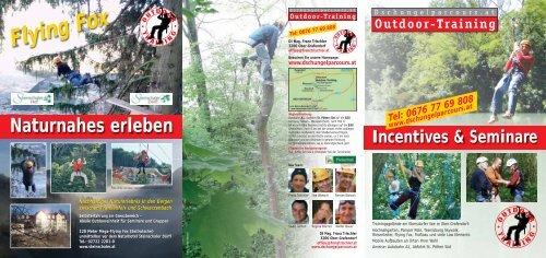 Naturnahes erleben - adventure - outdoor - training