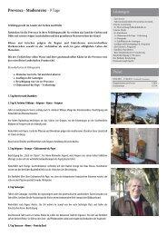 Provence - Studienreise - Heideker Reisen